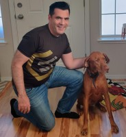 My Dogger Copper and Me